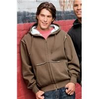 [DT139]  Vintage Fleece Full Zip Hoodie    With heavily-brushed fleece backing for sherpa-like softness and modern exposed seams, this is no ordinary hoodie. 11-ounce, 80/20 cotton/poly Sherpa-effect backing throughout Exposed seams 2-way front zipper Rib knit cuffs and hem Kangaroo pockets    Product code: DT139  Qty:1-2425-1112+  ea.$44.58$44.58