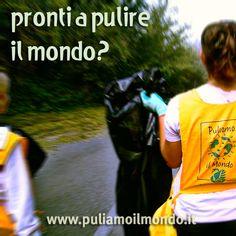 (28/09/2012) Puliamo il Mondo, la più grande iniziativa di volontariato ambientale. www.puliamoilmondo.it