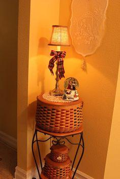 The Plaid Basket: A Longaberger