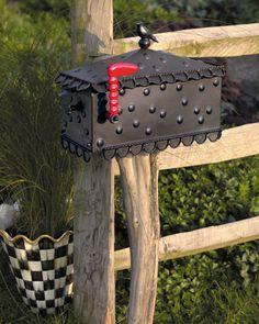 Mackenzie-Childs Birdsong mailbox