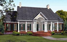 Colonial European Southern House Plan 40019