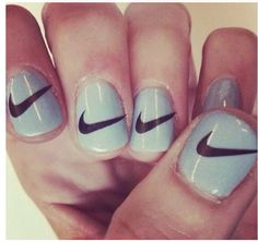 In seek out some nail designs and ideas for your nails? Here is our list of 14 must-try coffin acrylic nails for fashionable women. How To Do Nails, Fun Nails, Coffin Nails, Acrylic Nails, Acrylics, Nike Nails, Special Nails, Glitter Nail Art, Cute Nail Designs