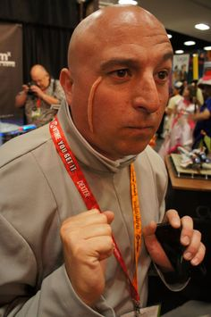 Dr Evil; Comic-Con 2012 Cosplay