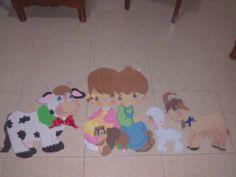Decorado para aulas infantiles (mural)