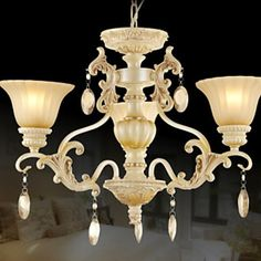 European Style Traditional Luxury 3 Light Chandelier With Crystal Decoration – LightSuperDeal.com