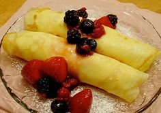 Crepes for Candlemas (French tradition)