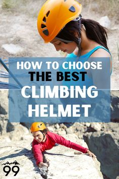 A climbing helmet is an essential part of your climbing gear. Check out this guide of the best climbing helmets avaliable today and find the right one for your needs! I Rock climbing tips I Climbing equipment I Rock climbing for women I Rock climbing tips I Outdoor rock climbing