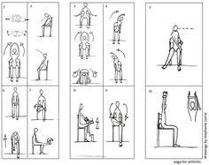 Arthritis Chair Yoga Exercises-so amazing. Love that you can do yoga in a chair!