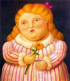 Fernando Botero Nina con flor painting for sale, this painting is available as handmade reproduction. Shop for Fernando Botero Nina con flor painting and frame at a discount of off. Frida Diego, Claude Monet, Plus Size Art, Figurative Kunst, Art Paintings For Sale, Mexico Art, Famous Art, Painting Frames, Oeuvre D'art
