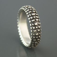 Nobby Dirt Bike Tire Ring I might actually wear this