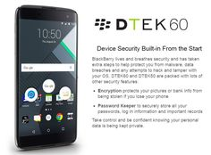 BlackBerry Launches its Last Phone: #BlackBerry #DTEK60 is a Powerful #Android Device @ http://www.ispyprice.com/blog/blackberry-launches-last-phone-blackberry-dtek60-powerful-android-device/