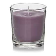 Decorate your room with aromatic tones of wild lavender and rose fragrance.  A decorative and practical glass candle lovingly selected for you as part of the Wilko room fragrance range. Provides approximately 25 hours of  burning time. Never leave a burning candle unattended  and follow  the safety instructions provided.