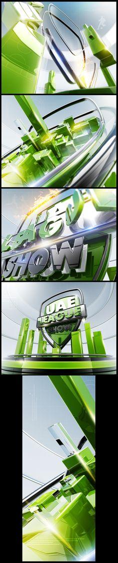 UAE LEAGUE SHOW on Behance