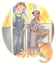 The Story of Mrs. Lovewright and Purrless Her Cat: A Sweet Vintage Parable of Loneliness, Love, and Letting Go | Brain Pickings