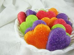 If you like Jell-O cookies, you'll LOVE these...perfect for Valentine's Day! w/Link to original recipe.