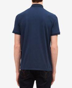 Calvin Klein Men's Logo Pocket Polo - White XXL