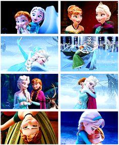 Anna and Elsa [gifset]
