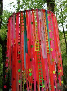 paper chandelier