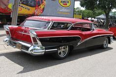 1958 Buick Cabellero Estate Wagon--Buick succeeds in doing the impossible: making a wagon look sporty.