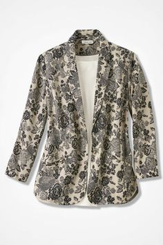 Neutral Expressions Jacket, Black Multi