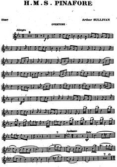 H.M.S. Pinafore (Sullivan, Arthur) - IMSLP/Petrucci Music Library: Free Public Domain Sheet Music
