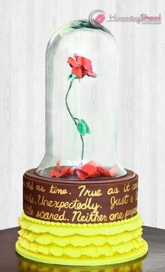 beauty and the beast birthday I Spy Cakes Pinterest Beast