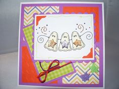 Halloween Card    Handmade Cards    3D
