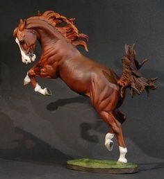 Breyer Horse... OMG. Does anyone know where I can find more pics of this piece? is it available for sale???