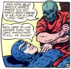 BLue Beetle 14-AND-NOW-BLUE Blue Beetle, Mystery, Comic Books, Comics, Cartoons, Cartoons, Comic, Comic Book, Comics And Cartoons