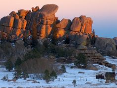 Vedauoo...awesome rock formations, great rock climbing between Cheyenne and Laramie.