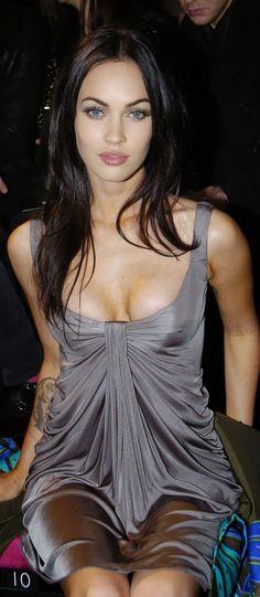 Younger Megan Fox...natural beauty.