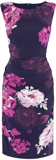Fab Purple Floral Dress... https://www.boomerinas.com/2014/04/30/what-to-wear-to-a-beach-wedding-8-tips-for-women-guests/
