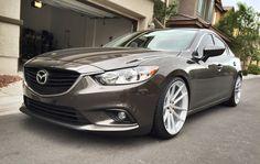 3nd-Gen Wheel Thread - POST YOUR PICS/SPECS!!!---- - Page 44 - Mazda 6 Forums : Mazda 6 Forum / Mazda Atenza Forum My Dream Car, Dream Cars, Mazda Cx3, Mercedez Benz, Rx7, Car Wheels, All Cars, Future Car, Car Pictures