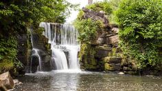 Ken Jones, from Skewen, Neath Port Talbot, took this photo of the upper falls at Penllergare Valley Woods in Swansea.