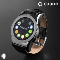 Discover a smartwatch that is in fashion these days on the market - the CuboQ Health Sensor smartwatch! A wristwatch with a modern and sporty design.www. Smartwatch, Display Lcd, Wearable Technology, Cardio, Fitbit, Fitness, Converse, Bluetooth, Samsung