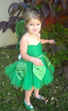 Tinkerbell costume for Amelia from lovelylittleones on Etsy