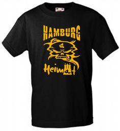 SEHR INDIVIDUELLES HAMBURG-HEIMAT T-SHIRT FOR MEN FÜR EXPERTEN BIKER STREETWEAR!