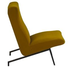 The design of Pierre Guariche is characterized by clean lines and practicality, especially in the design of stackable furniture or furniture attached to the Modern Armchair, Mid Century Modern Furniture, Art Deco Table, Pierre Guariche, French Art Deco, Slipper Chairs, Mid Century Chair, Scandinavian Modern, Cool Chairs