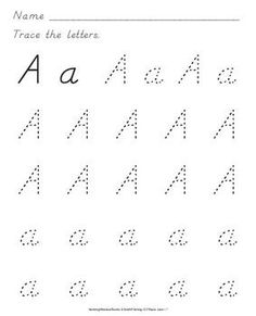 1000+ images about D'Nealian Handwriting Practice on Pinterest ...