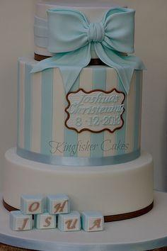 Joshuas' Christening Cake
