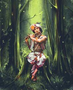 Radha Krishna Sketch, Radha Krishna Songs, Krishna Flute, Krishna Drawing, Lord Krishna Images, Radha Krishna Pictures, Krishna Painting, Krishna Photos, Radha Krishna Love Quotes