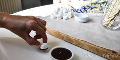 Söta studentmössor som drinkpinnar - Johanna Toftby Plastic Cutting Board