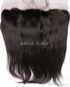 Lace Frontal Closure Brazilian Straight 13*6 Remy Human Hair Extensions Hair Closure Bella Hair Products…