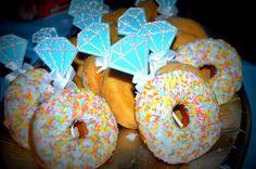Donut engagement rings