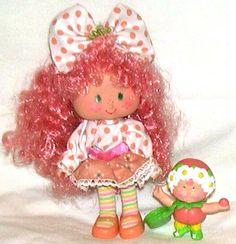 Peach Blush Strawberry Shortcake Berrykins