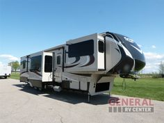 Enjoy The Great Outdoors Without Missing Any Of Your Home Amenities In The New 2017 Grand Design Solitude 379FL Fifth Wheel at General RV   Birch Run, MI   #139506