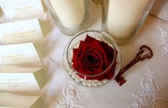 Vinatge Glamour Decor- Lace table overlay with bowls of pearls and open freedom roses, a key to your heart Glamour Decor, Table Overlays, Lace Table, Bowls, Raspberry, Floral Design, Freedom, Wedding Ideas, Key