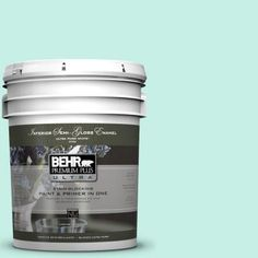 BEHR Premium Plus Ultra 5-gal. #P430-1 Summer House Semi-Gloss Enamel Interior Paint