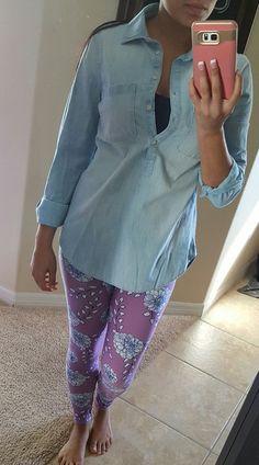 THESE LEGGINGS!!!! #lularoe #unicorn #leggings OS