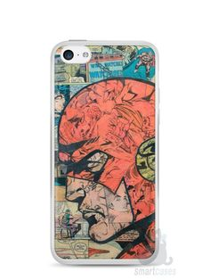 Capa Iphone 5C The Flash Comic Books - SmartCases - Acessórios para celulares e tablets :)